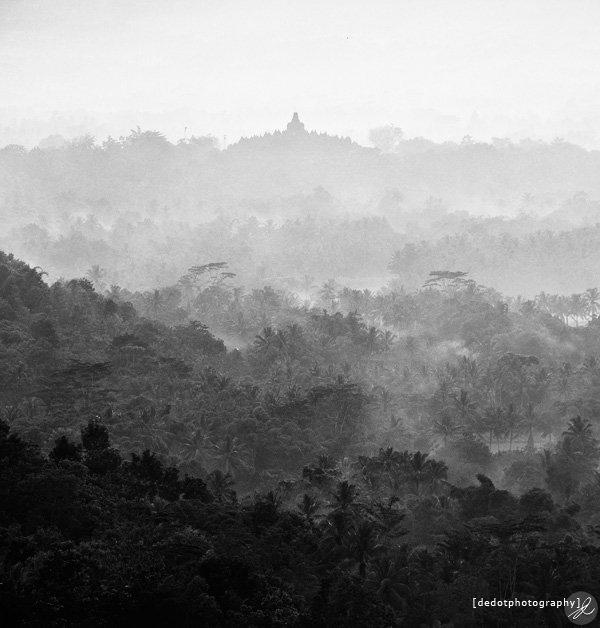 Landscape Borobudur
