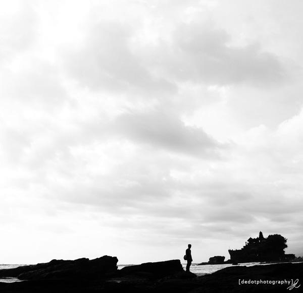 Tanah Lot,Bali,Black and White,Landscape,Photography,Dedot,Photographer